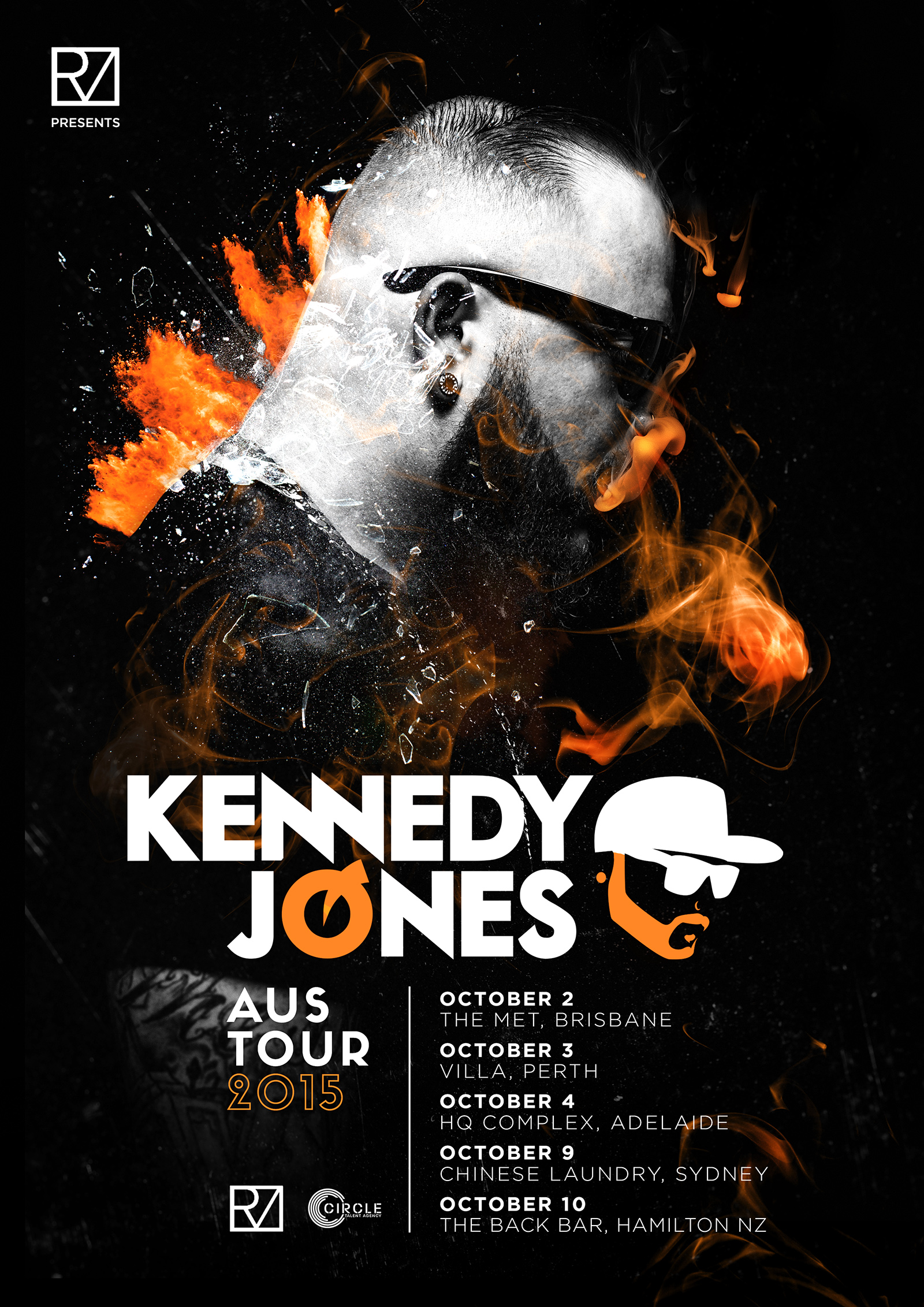 Kennedy Jones Tour Art